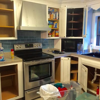 kitchen news! A demo is in the works