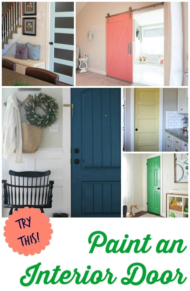 Paint-Interior-Door & TRY THIS: 8 Colors You Can Paint an Interior Door - Four Generations ...