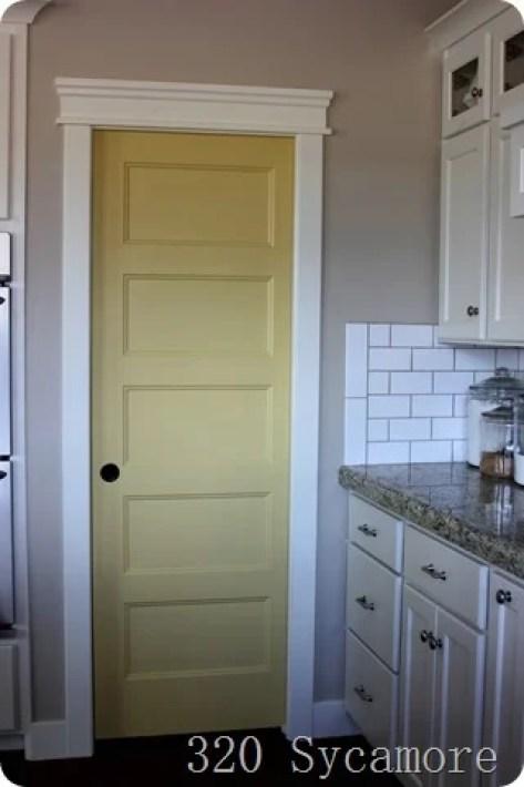 yellow-sequin-pantry-door