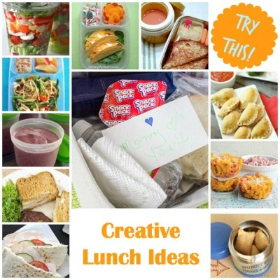 TRY THIS:  Think Outside of the Box for Lunches