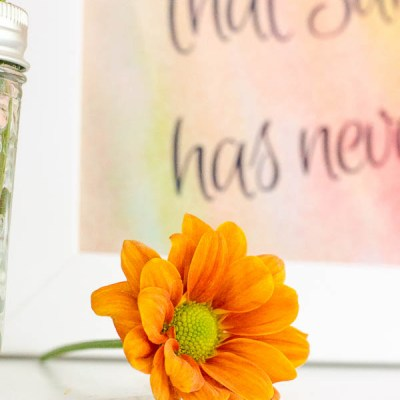 Early Fall Vignette + Free Fall Printable