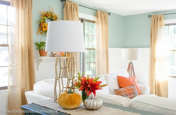 Colorful Fall Decorating Ideas Our Fall Home Tour Four
