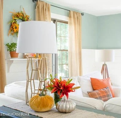 Colorful Fall Decorating Ideas – Our Fall Home Tour