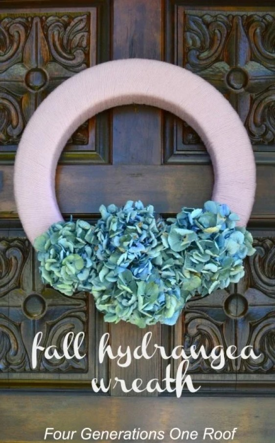 Fall-pink-and-blue-hydrangea-wreath-e1347636765265