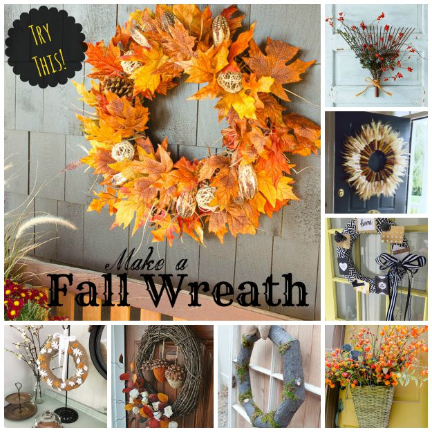 Try This 12 Ways To Make A Fall Wreath Four Generations