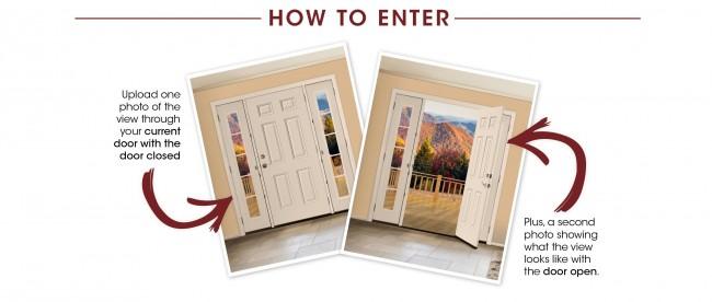 Gorgeous VistaGrande Door + foyer project