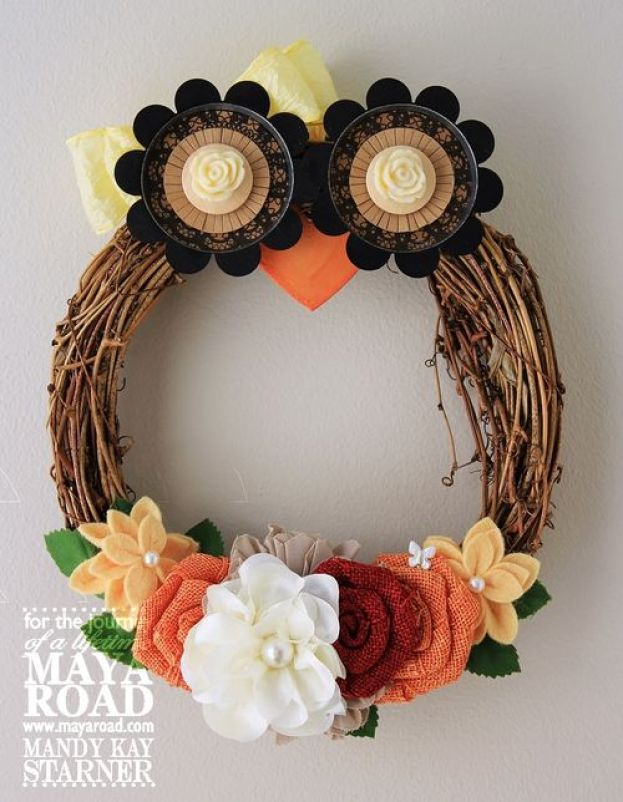 flower-owl-wreath
