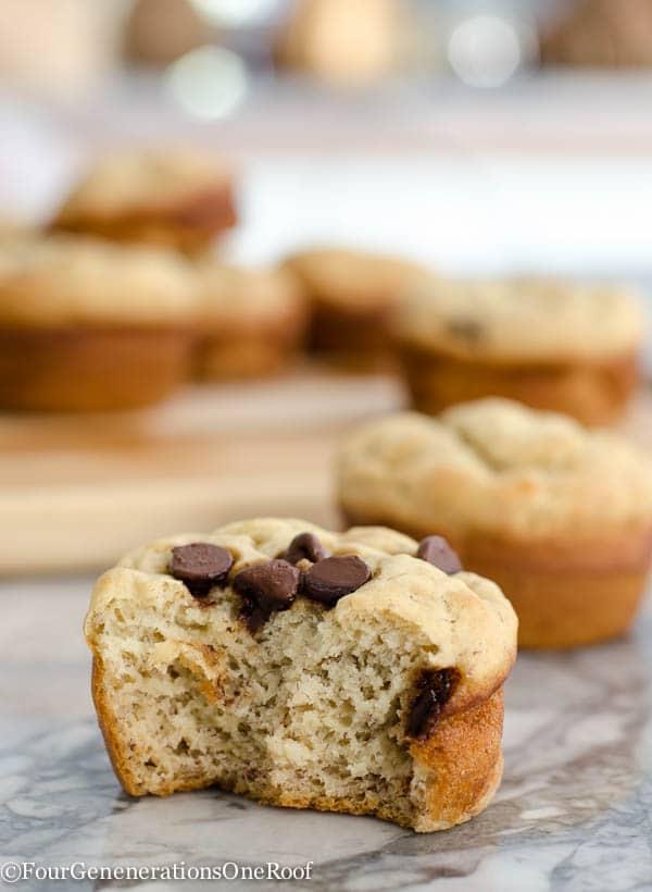 gluten free banana muffins no sugar added