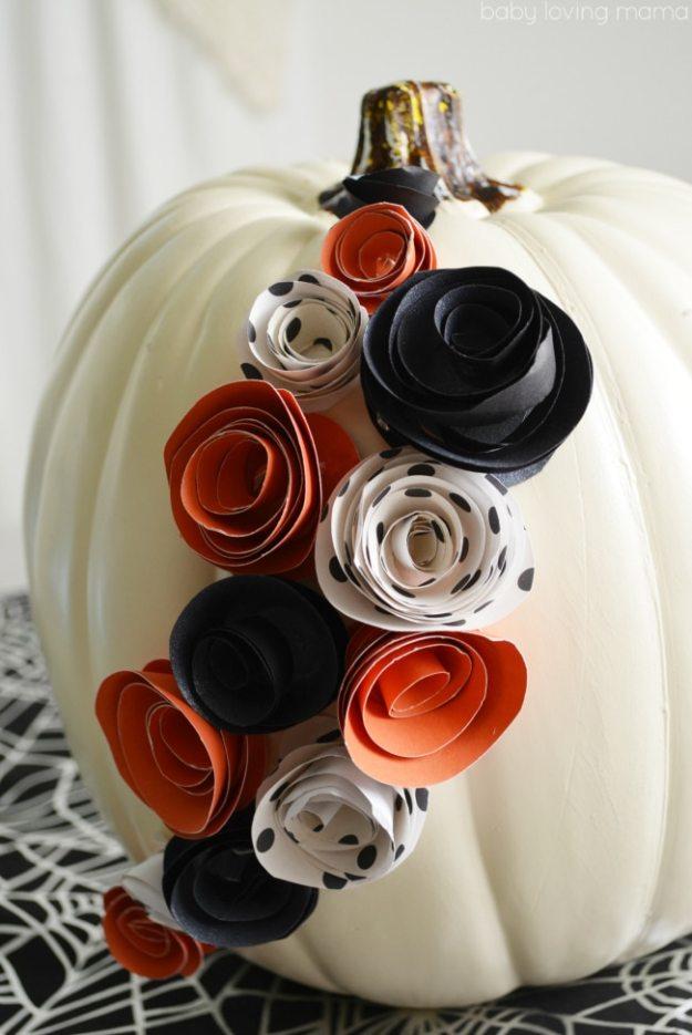 paper-flower-pumpkin
