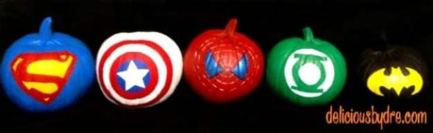 super-hero-pumpkins