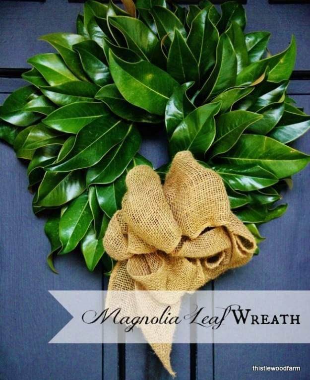 Magnolia-Leaf-Wreath