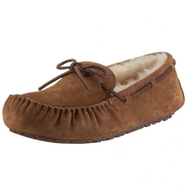 Teenage Girl Holiday Gift Guide 2015:Ugg Suede Dakota Mocassins
