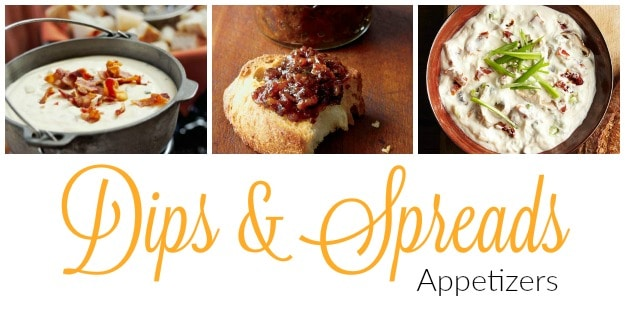 Appetizers-dips-spreads