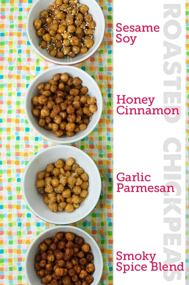 Healthy Roasted Chickpeas by Modern Parents Messy Kids
