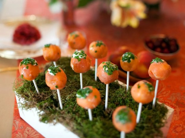 Salmon-Lollipops