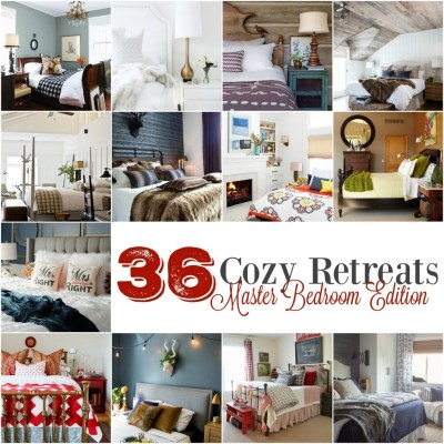 36 Cozy Retreats:  Master Bedroom Edition