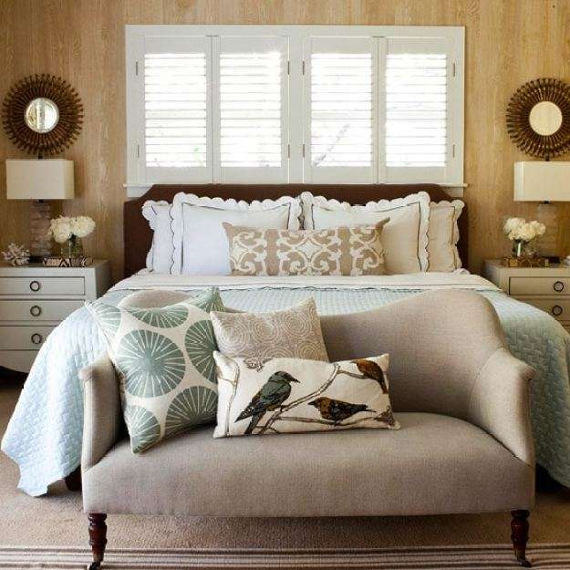 36-cozy-master-bedrooms-faux-bois-wallpaper