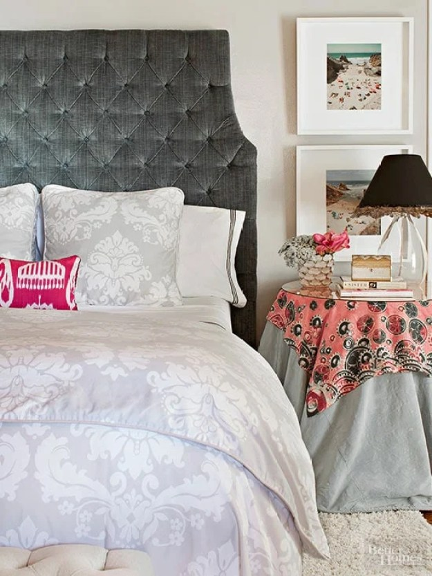 36-cozy-master-bedrooms-linen-layered-side-table