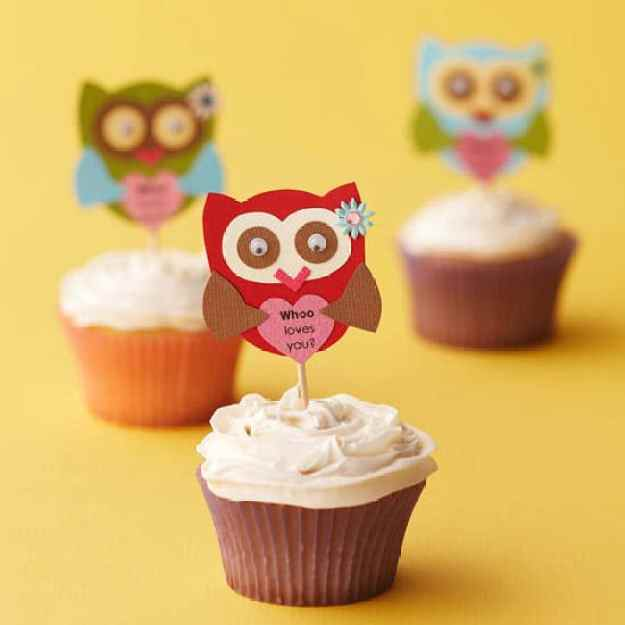 40-valentine-treats-owl-love-cupcakes
