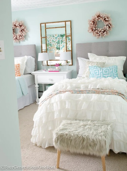 teenage girls bedroom paint color