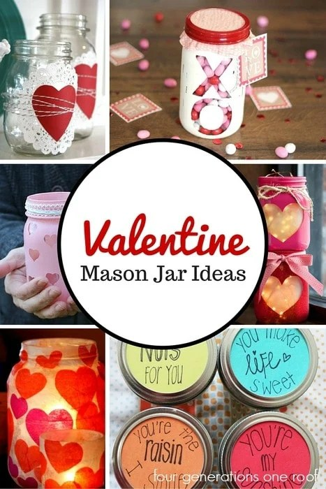 valentine mason jar ideas