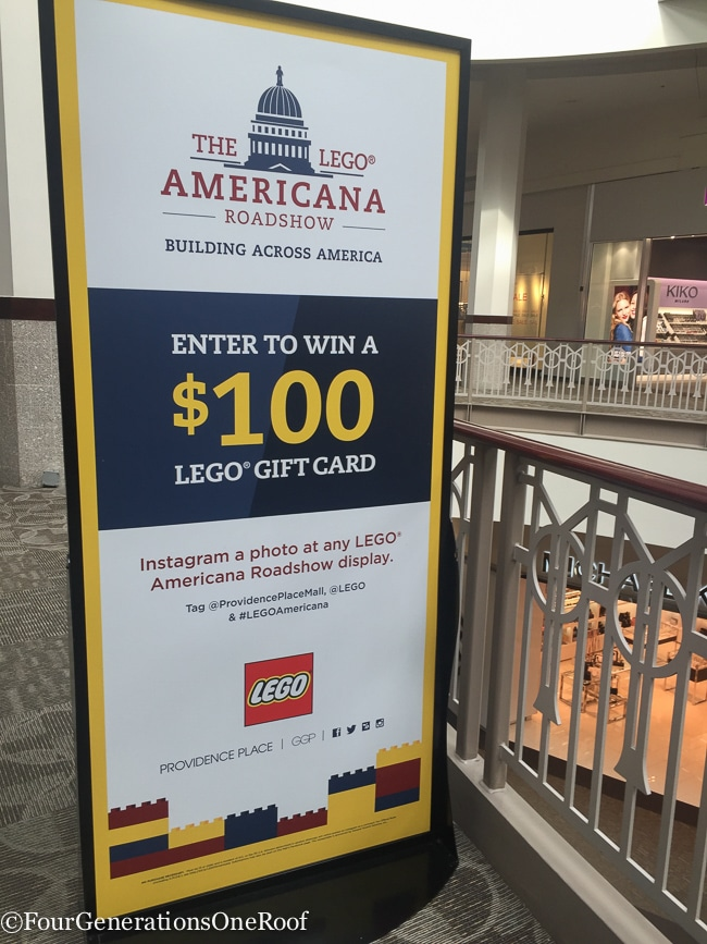 Lego Americana Roadshow Providence RI
