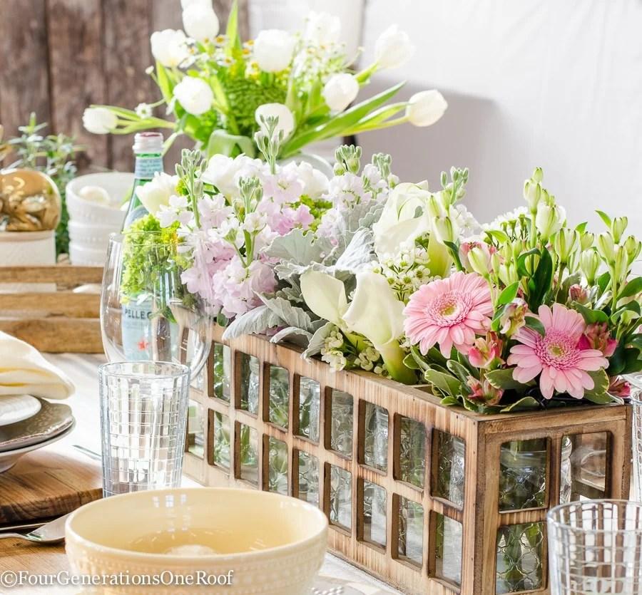 DIY Flower Centerpiece -12-3