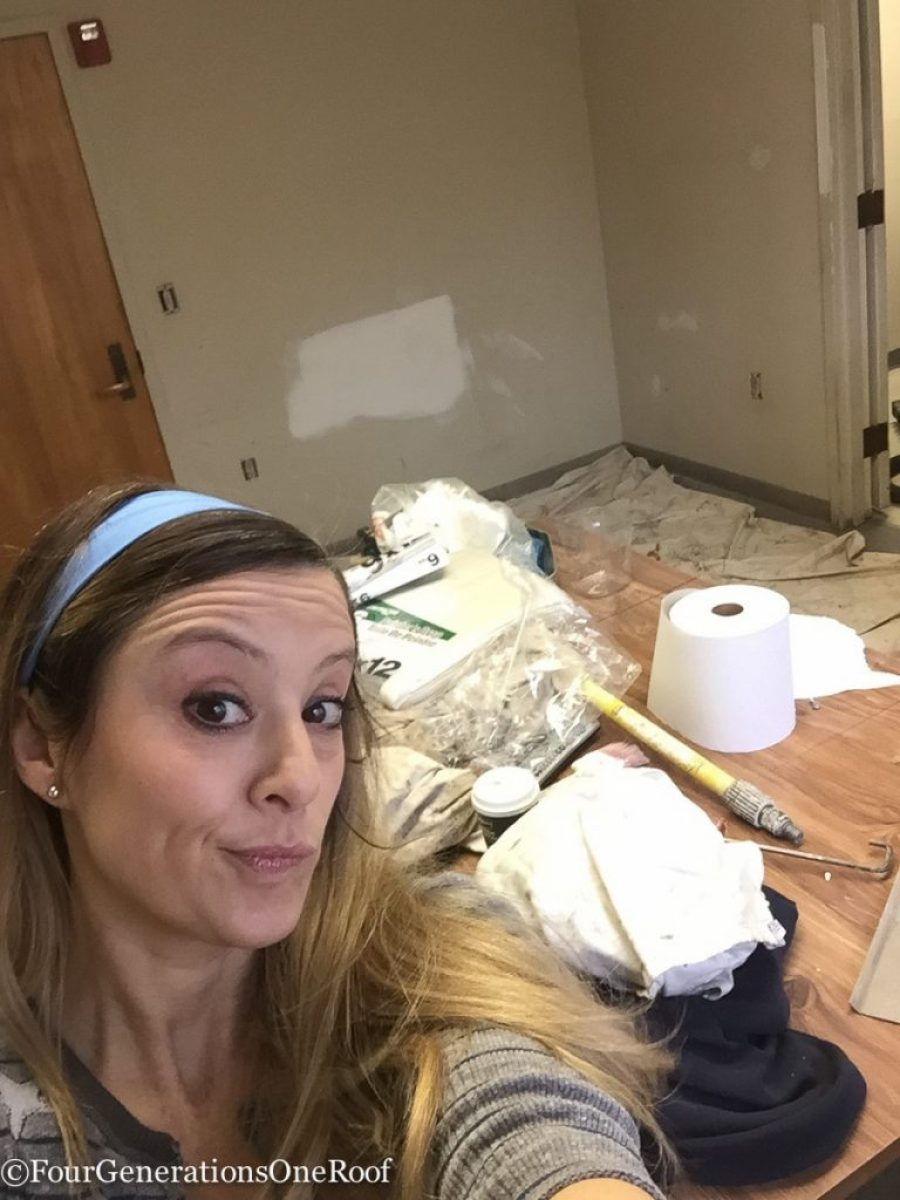 painting the police station break room / Police Station Makeover - 2016 Community Service Makeover