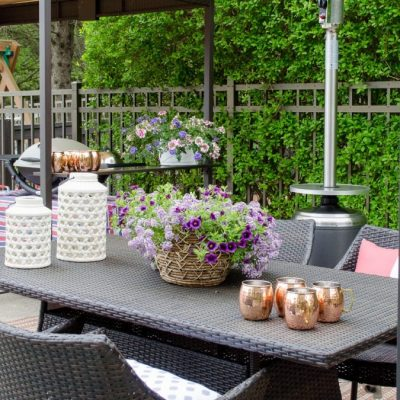 Patio refresh Video {our pool area}