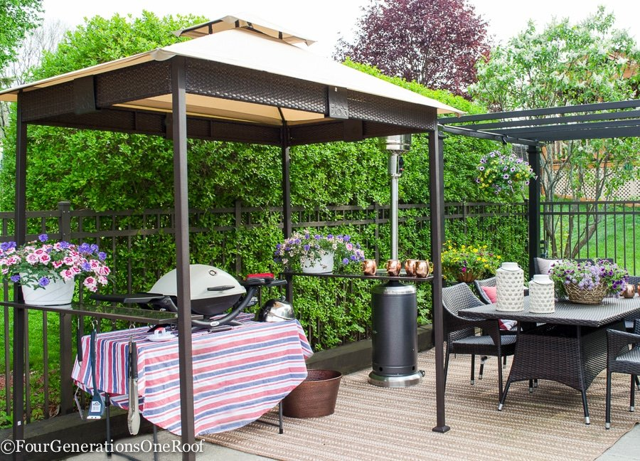 entertaining outdoor patio tips