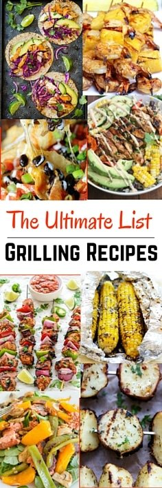 Easy Grill Recipes : The Ultimate List of Easy Grilling Recipes | Four Generations One Roof