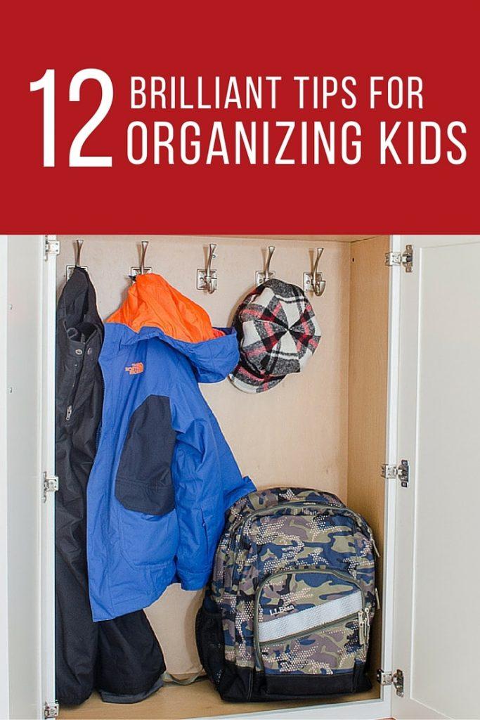 12 Kids Organization Ideas (1)