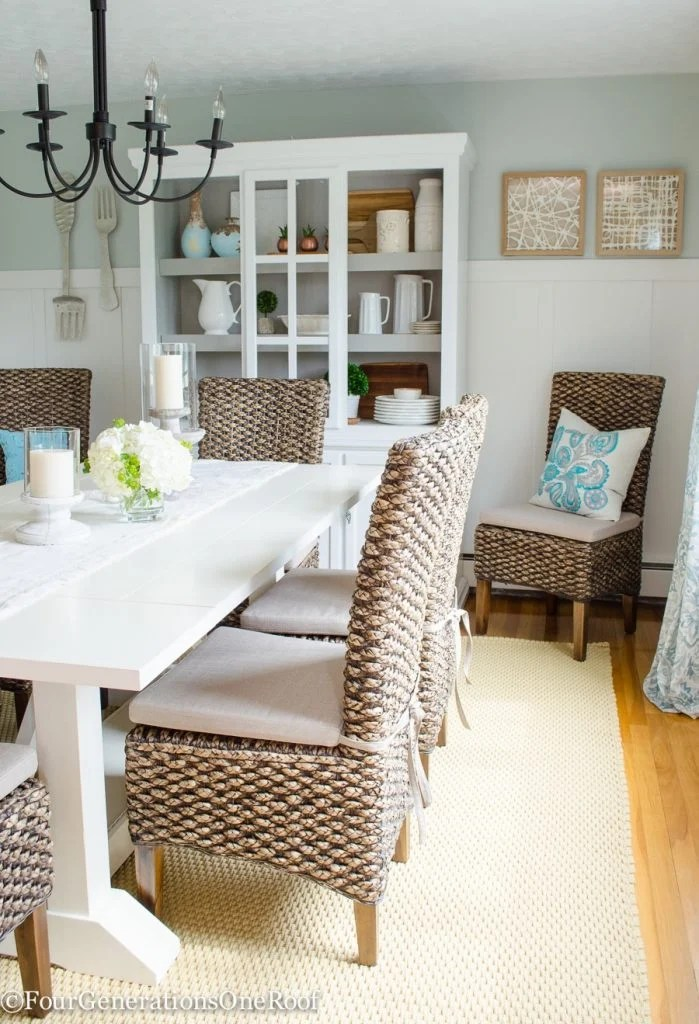 Dining Room Makeover {coastal}-15