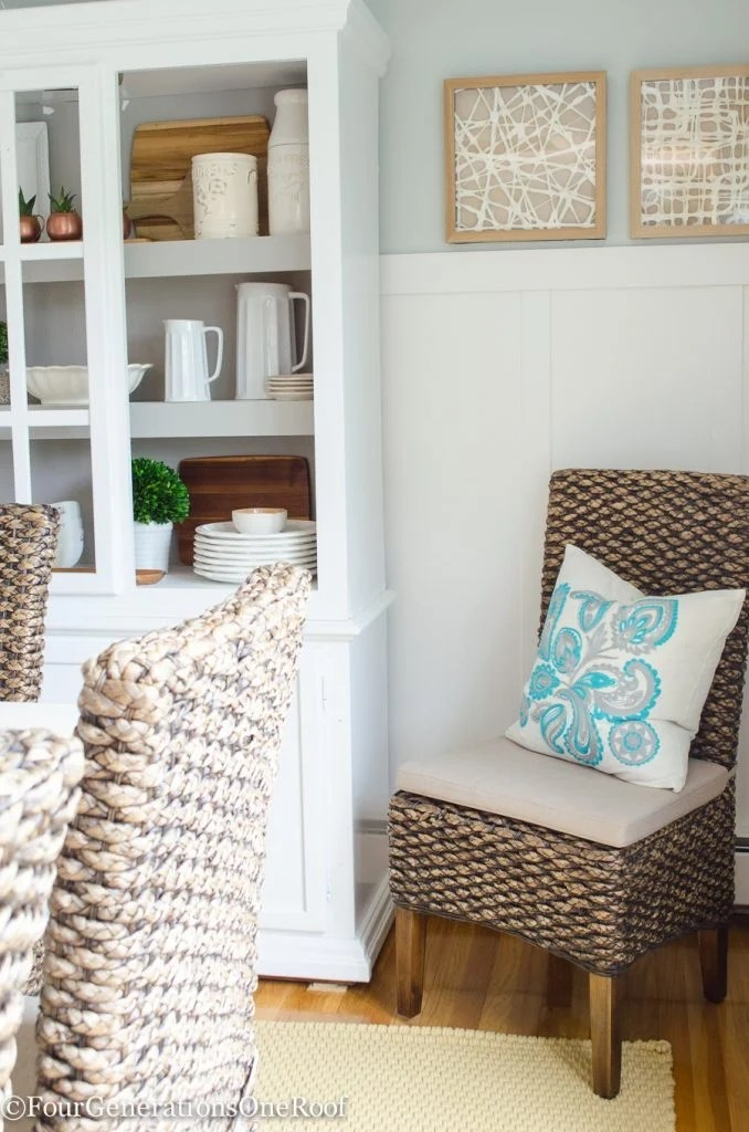 Dining Room Makeover {coastal}-17