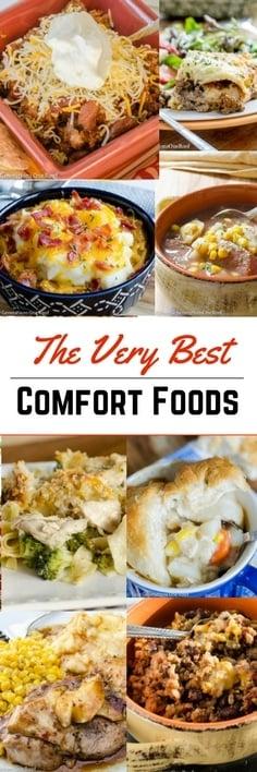 12 simple comfort food recipes