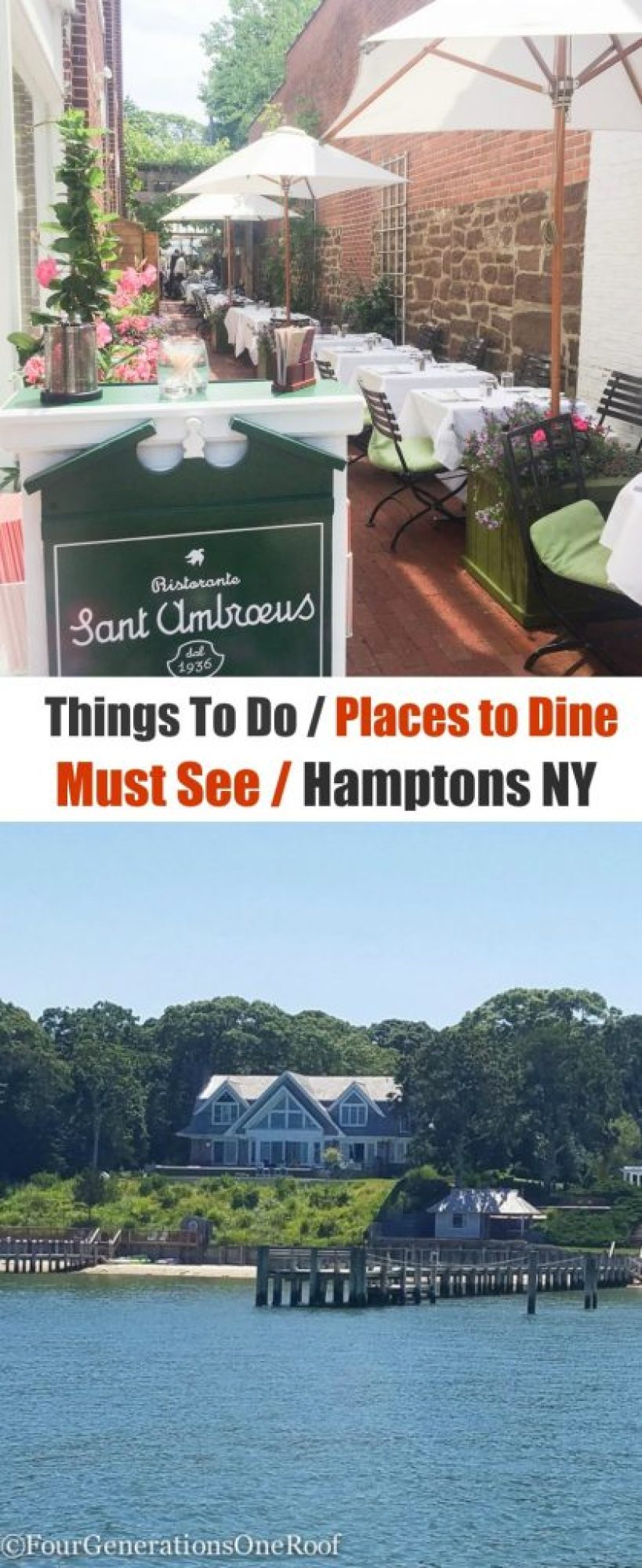 Things to Do / Places to Stay / Must See/ Hamptons NY