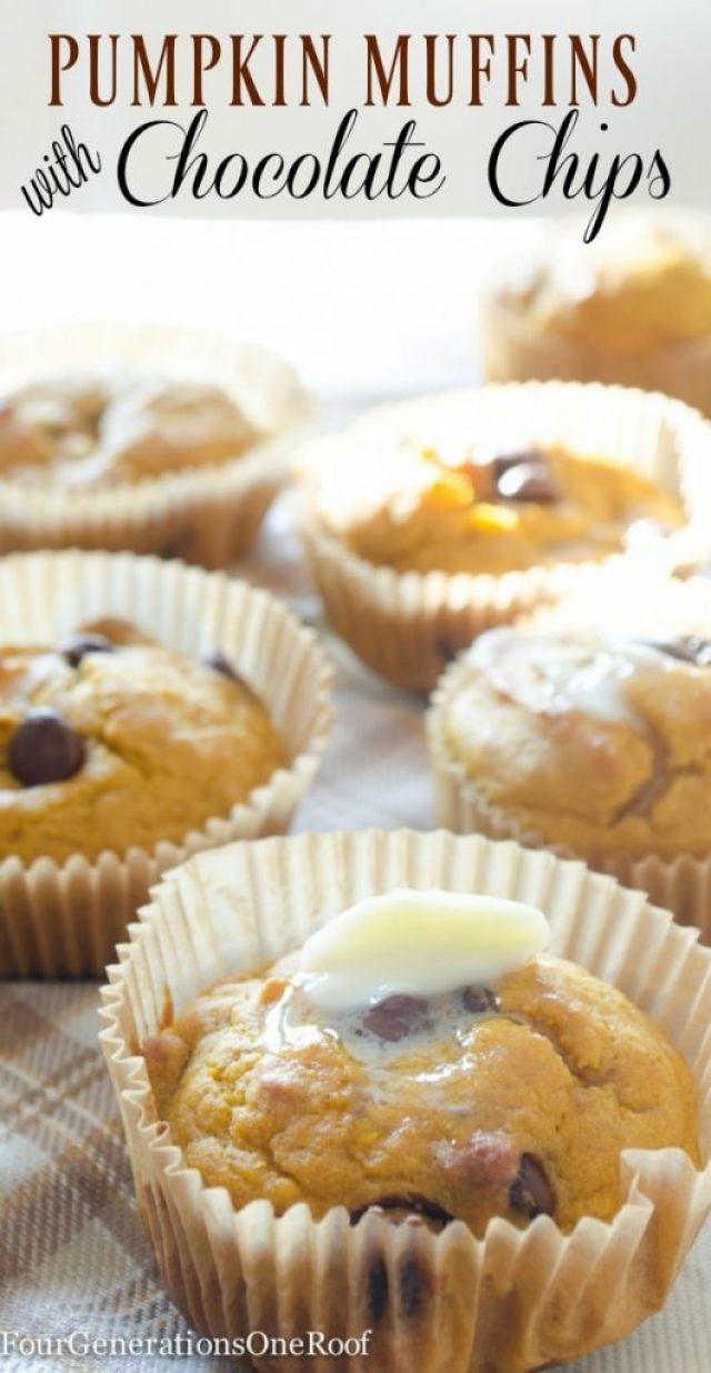 pumpkin-chocolate-chip-muffins-