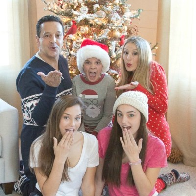 Our Family Christmas Pajama Sets {more pics from photoshoot}