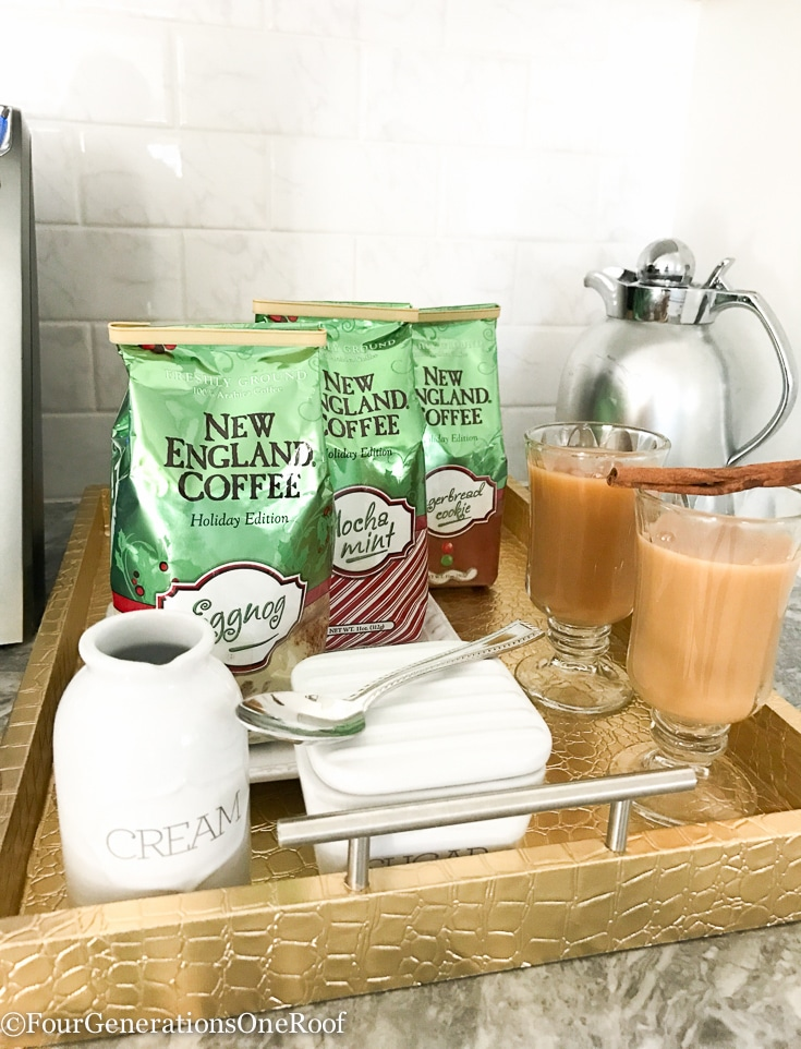 HOLIDAY COFFEE THAT ROCKS AND HOW TO SETUP A COFFEE STATION FOR THE HOLIDAYS