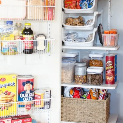 DIY Kitchen Closet Pantry Under $100