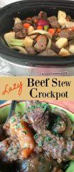 Lazy Crockpot Beef Stew