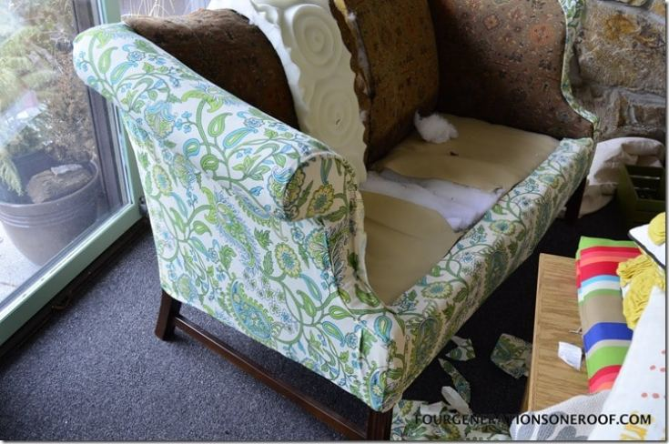 Easy Diy Reupholstering Tips And Tricks Four Generations