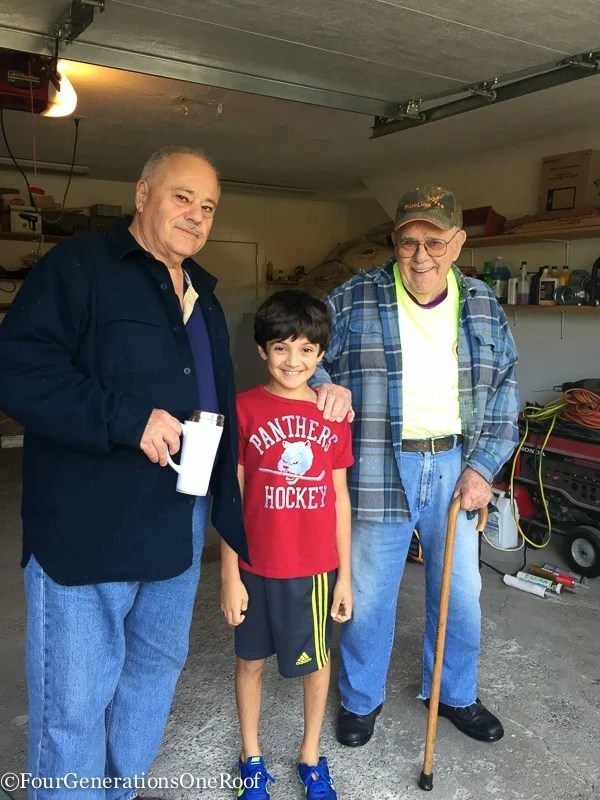 Best of 2016 | gramp dad and tony garage