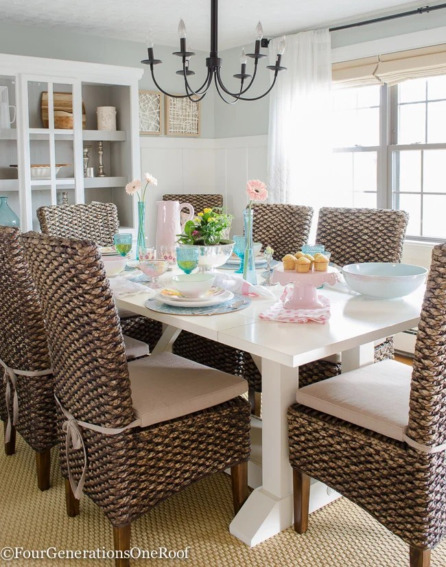 5 Styling Spring Tablescape Tips (Easter Idea too)