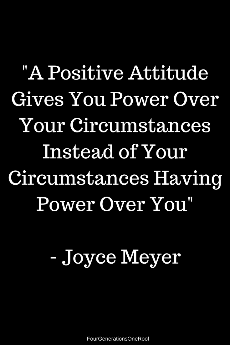 -A Positive Attitude Gives You Power Over Your Circumstances Instead of Your Circumstances Having Power Over You   New Renovation Project   Blog Studio Space