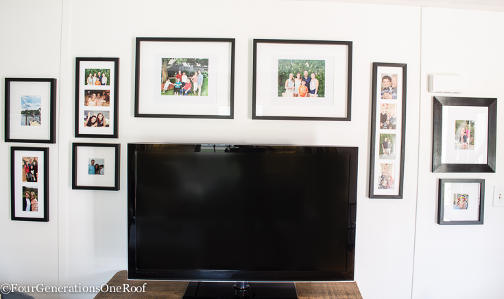 Fun Family Picture Wall Gallery