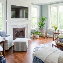 Pottery Barn Living Rooms Room Wall Design 5 Tips To Nail A Navy Blue Coastal Four Generations On Budget