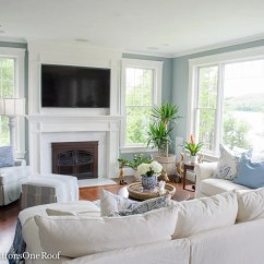 Pottery Barn Pictures Of Living Rooms Modern Furniture Room Designs Coastal On A Budget Four Generations One Roof