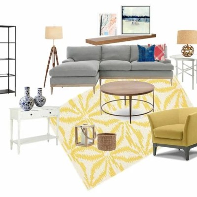 NEW PROJECT: Modern Transitional Living Room Makeover Step-Daughter's house