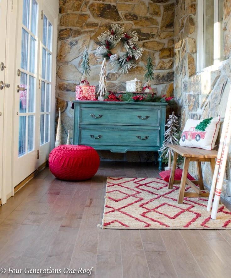 Beautiful New Maple Hardwood Floor Foyer Entrance Makeover